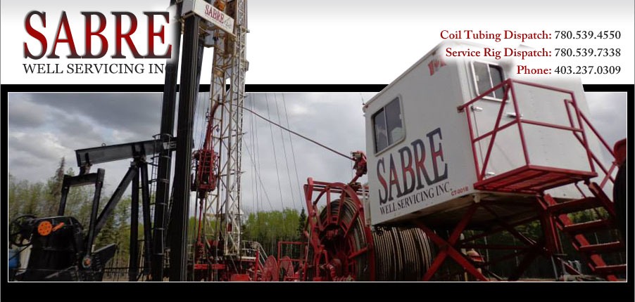 sabre well servicing careers  coiled tubing careers in