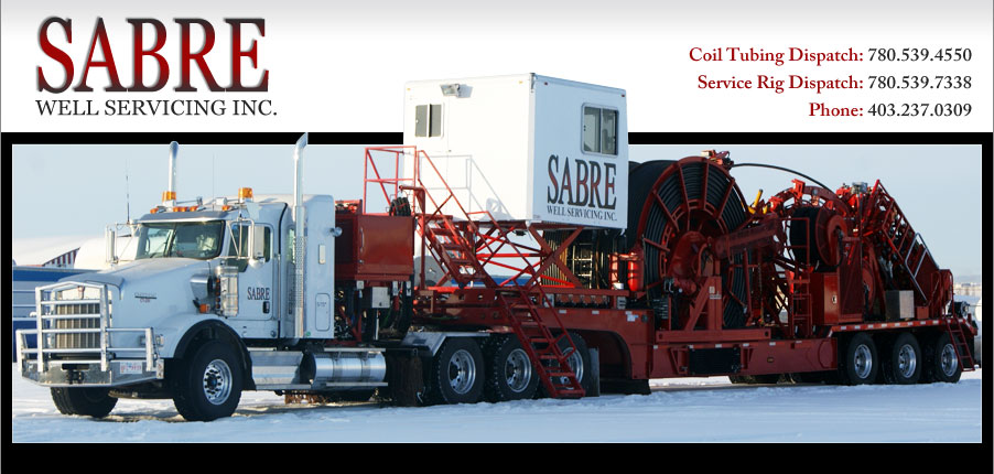 Coil Tubing Bop Service : Sabre well servicing western canadian independent